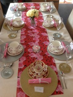 Ready for a Posh Afternoon Tea party for a 10th birthday!