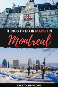 Things to do in Montreal in March - Take Your Bag Cool Places To Visit, Places To Travel, Travel Destinations, Travel Tips, Travel Guides, Columbia, Vancouver, Toronto, Stuff To Do