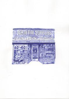 graffiti supplies – Mark Powell