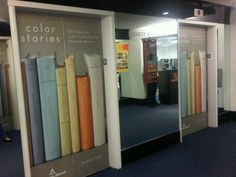 "Color Stories elevator doors! Step into your ""story"" building!"