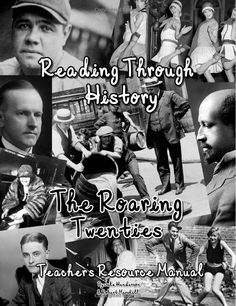The Roaring Twenties is brought to you by Reading Through History. This is a collaborative effort of two Oklahoma classroom teachers with nearly thirty years of teaching experience at the secondary level. It includes 159 pages of student activities related to the significant events and major figures of the 1920s. The workbook is divided into ten complete units and includes answer keys for each activity.
