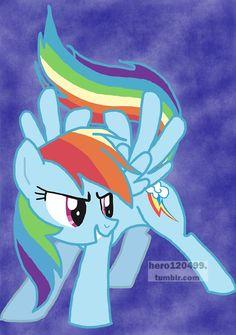 "Rainbow Dash from ""My Little Pony: Friendship is Magic"""