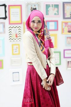hijab is the beauty of girls Fashion Cover, Cute Fashion, Modest Fashion, Daily Fashion, Hijab Fashion, Fashion Dresses, Womens Fashion, Hijab Trends, Hijab Ideas