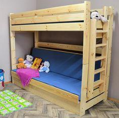 dřevěná patrová postel masivní rozkládací Kolorado chalup