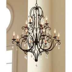 Waldorf 12 Light Chandelier | Lighting | Ballard Designs -entry