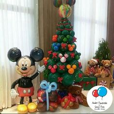 #baloes #natal #arvoredenatal #mickey #nataldisney