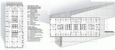 Планы типовых офисных этажей (7 этаж). Концепции штаб-квартир компаний «Спортмастер» и «O'stin». Авторы: ТПО «Резерв»