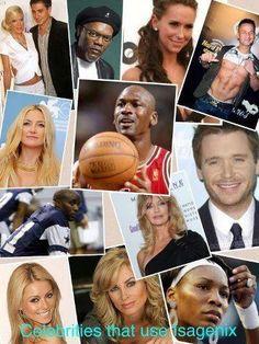 Isagenix Bulletin: Celebrities on Isagenix
