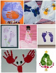 Die 52 Besten Bilder Von Hand Fußabdruck Bilder Crafts For Kids
