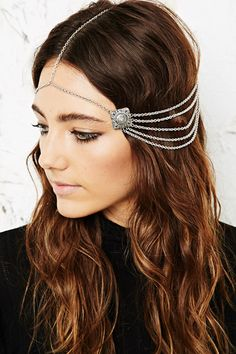 Ethnic Square Head Chain at Urban Outfitters