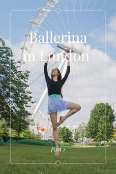 Part 1 Ballerina in London A fun photoshoot in London with the very talented Ballet Dancer . Ballet is like dreaming on your feet Going underground Dancing with joy  I'm a dreamer. I have to dream and reach for the stars, and if I miss a star then I grab