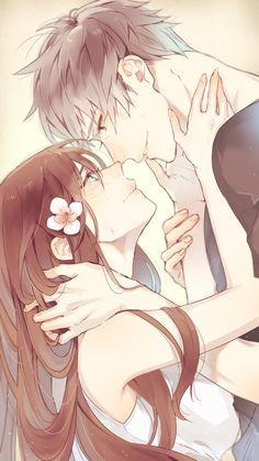 Immagine di anime, love, and couple