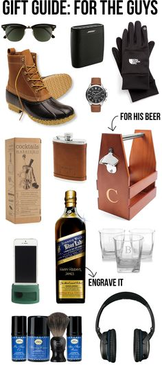 Perfect gift guide for the guys in your life!