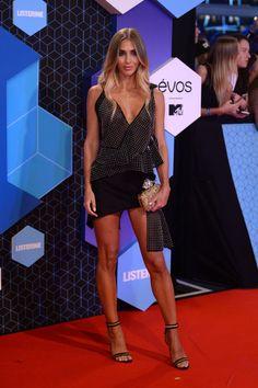 Ann-Kathrin Broemmel attends the MTV Europe Music Awards 2016 on November 6, 2016 in Rotterdam, Netherlands.