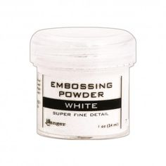 Embossingpulver - Superfine White