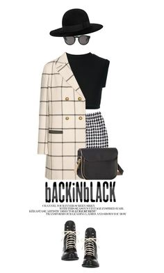 """""""Back In Black"""" by zayngirl1dlove ❤ liked on Polyvore featuring adidas Originals, St. John, Tory Burch, rag & bone, Monki, SANCHEZ and Yves Saint Laurent"""