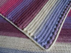 Ravelry: The Bubbly Bobble Baby Blanket pattern by Amy McKeever