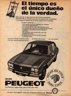 Peugeot 504 - adv Chili