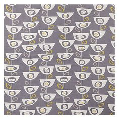 Buy Slate John Lewis Seedheads Furnishing Fabric from our View All Fabrics range at John Lewis & Partners. Free Delivery on orders over Tile Wallpaper, Fabric Wallpaper, Scandinavian Blinds, Curtains Or Roman Blinds, Bedroom Blinds, Master Bedroom, House Blinds, Retro Fabric