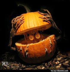 Image Spéciale N°9156 - Halloween - Citrouilles