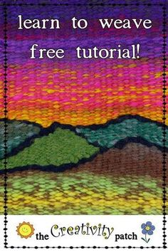I show you how to turn a book into a loom, and make your first project!