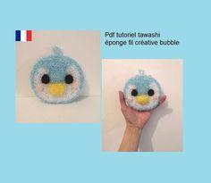 Crochet Amigurumi, Crochet Hats, Creative Bubble, Bubbles, Kawaii, Dishes, Pattern, Etsy, Tutorials