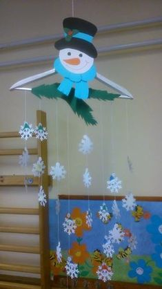 Winter tuning for the holidays – Computers Christmas Yard Art, Snowman Christmas Decorations, Christmas Diy, Holiday, Crafts For Kids To Make, Christmas Crafts For Kids, Diy And Crafts, Classroom Ceiling Decorations, Decoration Creche