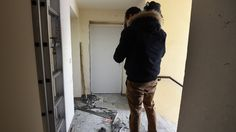 Three men and a girl of 16 are found with bomb-making materials in a police raid in Montpellier.