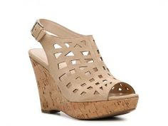 Franco Sarto Sassy Wedge Sandal Women's Wedge Sandals Sandals Women's Shoes - DSW