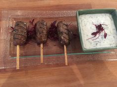 Merguez Spiced Lamb Skewers