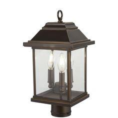 Outdoor Post Lights, Outdoor Lighting, Pathway Lighting, Exterior Lighting, Bronze Gold, Bronze Finish, Lantern Post, Traditional Lighting, Gold Highlights
