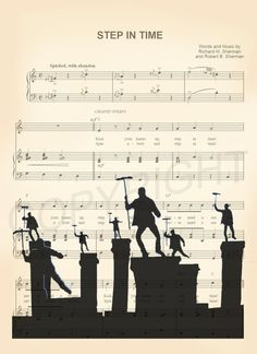 Here is a sheet music art print of Bert and Other Chimney Sweepers from Disneys Mary Poppins. This is perfect for any Mary Poppins/Disney fanatic!  We print this on quality photo paper, which measures approximately 8.5x11, and ship it in a heavy-duty envelope to ensure it arrives intact. FRAME NOT INCLUDED.  11x15 Poster: $20.00  Take advantage of our Buy 2 Prints, Get 1 Free special! Simply purchase any two prints in our shop, and let us know in a note which print youd like as your thir...