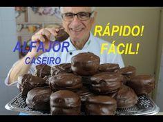 ALFAJOR (RECEITA DE ALFAJOR CASEIRO – FÁCIL – RÁPIDO DELICIOSO!) - YouTube Pavlova, Cereal, Red Velvet, Muffin, Food And Drink, Candy, Cookies, Breakfast, Blog