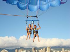 Hawaiian Parasail Honolulu, Oahu / Waikiki tours & activities, fun things to do in Oahu / Waikiki | HawaiiActivities.com