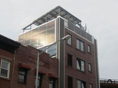 Renewable power generating building to go for rent in Brooklyn, New York. Ecofriend.com