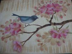 Cerejeira com Estêncil - work Mayumi Takushi