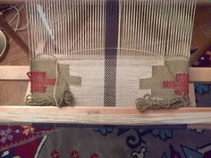 Scarf - work in process - knitting yarn