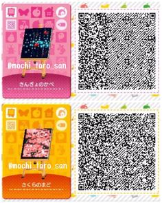 Image Bild The post Bild appeared first on Rose Dickson. Code Wallpaper, Pattern Wallpaper, Sakura Painting, Motif Acnl, Happy Home Designer, Happy House, Animal Crossing Qr, Qr Codes, New Leaf