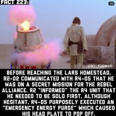 It should be noted that before hand actually tried to sabotage before. But stumbled upon his secret message for Kenobi and decided to sabotage himself source From a certain point a view novel. Star Wars Film, Star Wars Facts, Star Wars Baby, Rebel Alliance, Clone Wars, A Comics, The Secret, Novels, Fandoms