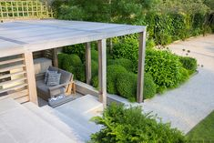 formal Structural Garden | Charlotte Rowe Blog