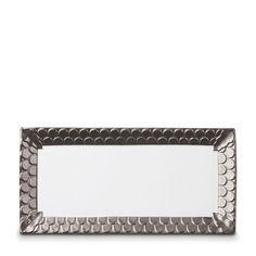 "L'Objet Aegean Rectangular Platter, 15.5' x 7.5"""