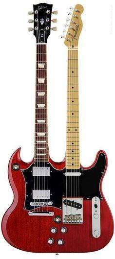 Si tuviese una guitarra de doble mástil, sería esta sin duda...