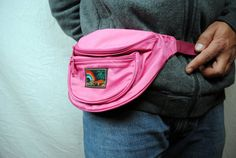 Vintage 80s Pink Fanny Hip Pack We all had one of these things too. I kept my CAP GUN in this sucker!
