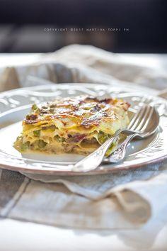 I vincisgrassi marchigiani sono un piatto simile alle lasagne emiliane che si differenziano per alcuni particolari. Ve le propongo in versione bianca.