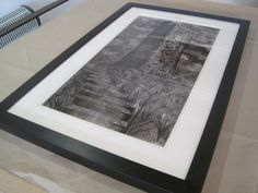 Black frame-drawing-Sharon Hockin-Castle Hill