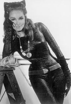 Julie Newmar as Catwoman....... What are you gonna do with that rope Kitten???