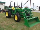 VERY  NICE JOHN DEERE 5055E  4X4  LOADER   TRACTOR   ONLY 352 HOURS