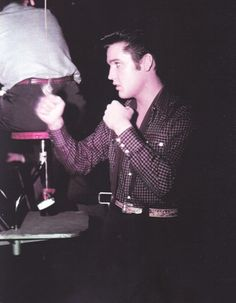 """Loving You"" - Elvis on the movie set"