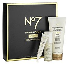 Boots No7 Protect & Perfect Intense Beauty Collection, 50% Off, Lucky Breaks Price: $24.75 http://www.luckymag.com/blogs/luckyrightnow/2012/07/DOTD-BootsNo7-Protect-Perfect-Intense-Beauty-Collection