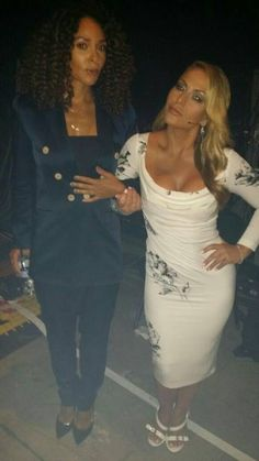 "TWITTER AnastaciaFanily: "" Joy Denalane & i wr the perfect match w/ R outfits this eve. Fab girly hottie couple. Haha """